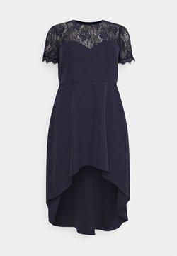 Chi Chi London Curvy - JAZPER DRESS - Cocktailkleid/festliches Kleid - navy