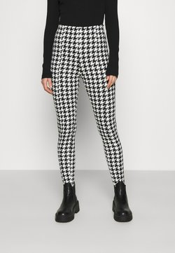 Monki - SARAH - Leggings - Hosen - white/black