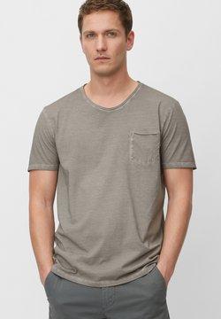 Marc O'Polo - SHORT SLEEVE RAW - T-Shirt basic - griffin
