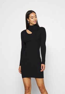 Even&Odd - Strickkleid - black