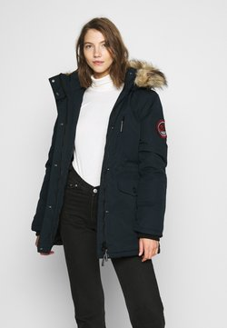 Superdry - EVEREST - Wintermantel - eclipse navy