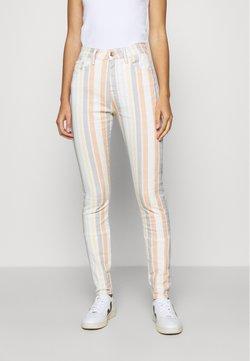 Mavi - LUCY - Slim fit jeans - multi-coloured/white