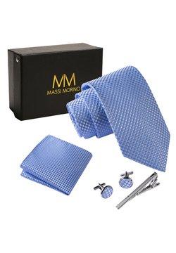 Massi Morino - 4 PIECE SET - Einstecktuch - hellblau