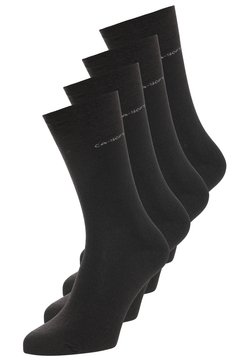 camano - SOFT WOOL 4 PACK - Socken - black