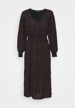 Dorothy Perkins Petite - PEACH DRESS - Freizeitkleid - black