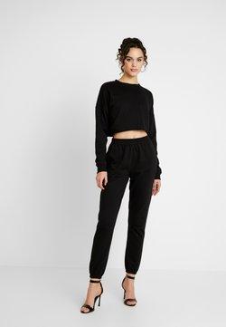 Missguided - SWEAT SET - Sweatshirt - black