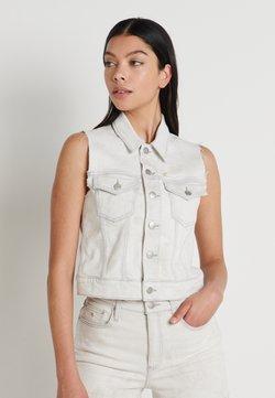 Calvin Klein Jeans - ARCHIVE VEST - Liivi - bleach grey