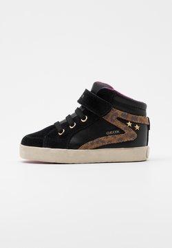 Geox - KILWI GIRL - Sneakers hoog - black
