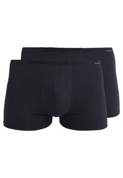 Schiesser - ESSENTIAL SHORTS 2 PACK - Shorty - dunkelblau