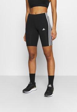 adidas Performance - Legginsy - black/white