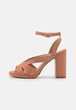 Anna Field - Korkeakorkoiset sandaalit - rose gold