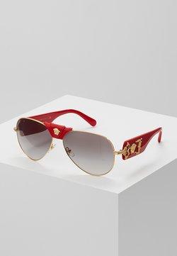 Versace - Gafas de sol - red/grey gradient