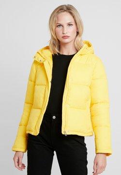 Calvin Klein Jeans - MONOGRAM TAPE PUFFER - Winterjacke - lemon chrome