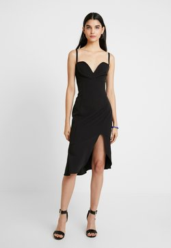Foxiedox - CARMINE MIDI DRESS - Cocktail dress / Party dress - black