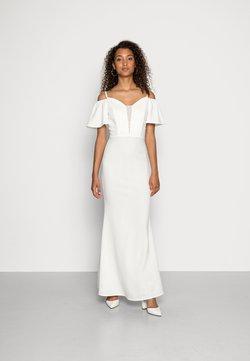 WAL G. - TALLY FLARE SLEEVE MAXI DRESS - Ballkleid - white