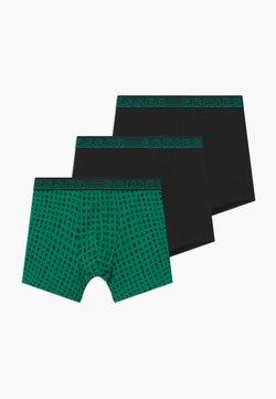 Schiesser - TEENS 3 PACK  - Shorty - green/black