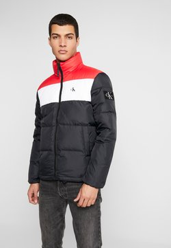 Calvin Klein Jeans - Daunenjacke - black/racing red