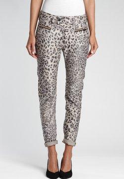 Gang - MARGE  - Jeans Slim Fit - shiny leo