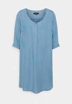 ONLY Carmakoma - CARJEMMA LIFE DRESS - Day dress - medium blue denim
