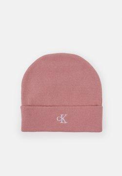 Calvin Klein Jeans - MONOGRAM BEANIE UNISEX - Mütze - pink