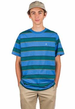 Volcom - KEATES  - T-Shirt print - ballpoint blue