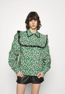 Custommade - DEMI - Bluse - classic green