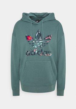 adidas Originals - HOODIE - Sweatshirt - hazy emerald