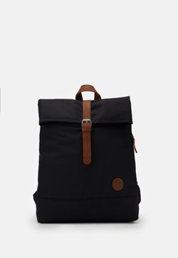Enter - FOLD TOP BACKPACK - Reppu - black recycled