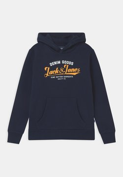 Jack & Jones Junior - JJELOGO - Hoodie - navy blazer