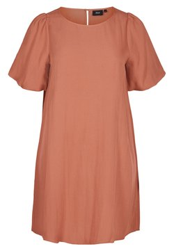 Zizzi - Freizeitkleid - copper brown