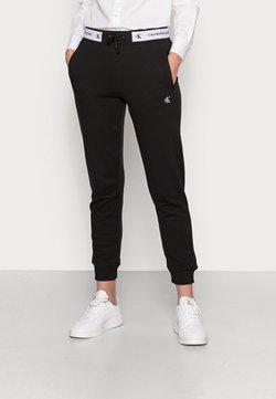 Calvin Klein Jeans - TRACK PANT - Jogginghose - black