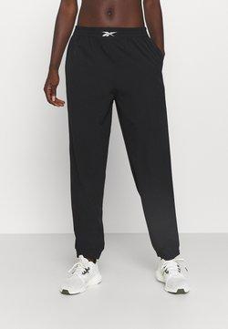 Reebok - STRETCH PANT - Pantaloni sportivi - black