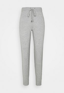 MICHAEL Michael Kors - LOGO TAPE JOGGER - Jogginghose - pearl heather