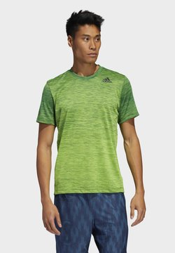 adidas Performance - TECH GRADIENT T-SHIRT - Camiseta estampada - green