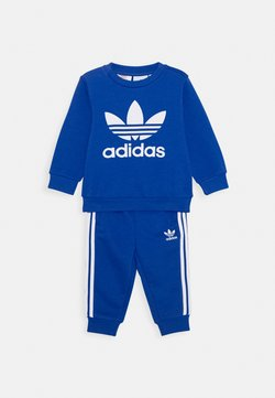 adidas Originals - CREW SET - Sweater - royal blue/white