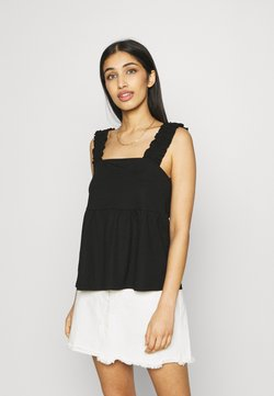 Vila - VISAFINA - Top - black