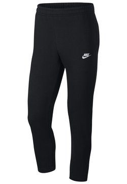 Nike Sportswear - NIKE SPORTSWEAR CLUB MEN'S FRENCH TERRY TROUSERS - Broek - black/black/white