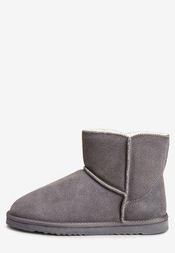 Next - CHESTNUT SUEDE SLIPPER BOOTS - Stiefelette - grey