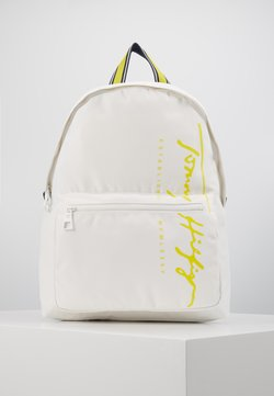 Tommy Hilfiger - SIGNATURE BACKPACK - Reppu - white