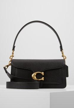 Coach - TABBY POLISHED SMALL FLAP BAG HANDBAG - Torebka - black