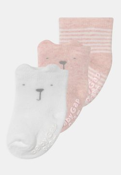 GAP - 3 PACK UNISEX - Calcetines - pink heather