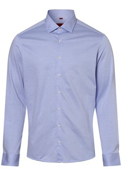 FINSHLEY & HARDING - Hemd - hellblau weiß