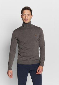 Farah - GOSFORTH ROLL NECK EXTRA  - Pullover - rich grey