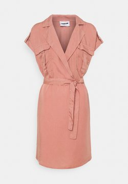 Noisy May - NMVERA ENDI SHIRT DRESS - Day dress - old rose