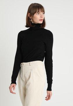 Saint Tropez - MILA ROLLNECK - Stickad tröja - black
