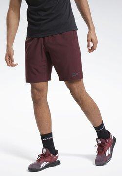Reebok - SPEEDWICK SPEED SHORTS - kurze Sporthose - burgundy