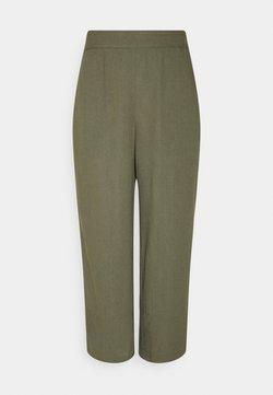 Vero Moda - VMHELENMILO CULOTTE PANT  - Trousers - kalamata
