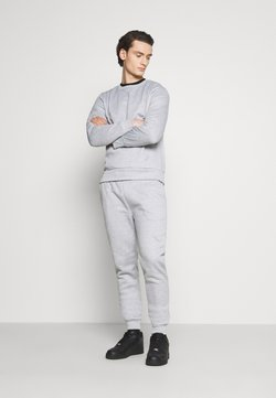 Brave Soul - SET - Sweatshirt - light grey