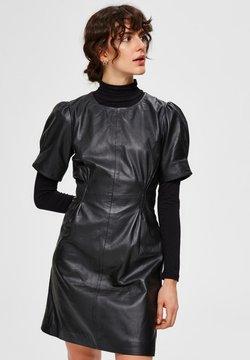 Selected Femme - Korte jurk - black