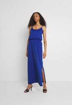 Vila - VIDREAMERS SINGLET - Maxikleid - mazarine blue